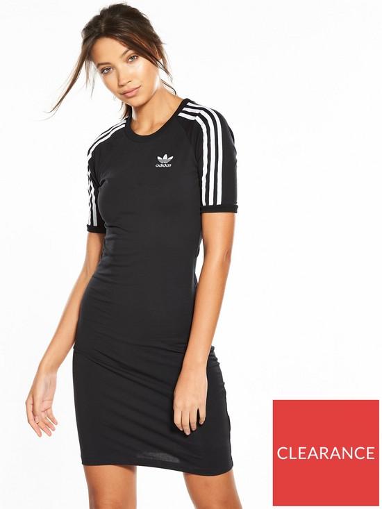 658cbb0c0c adidas Originals adicolor 3 Stripes Tee Dress