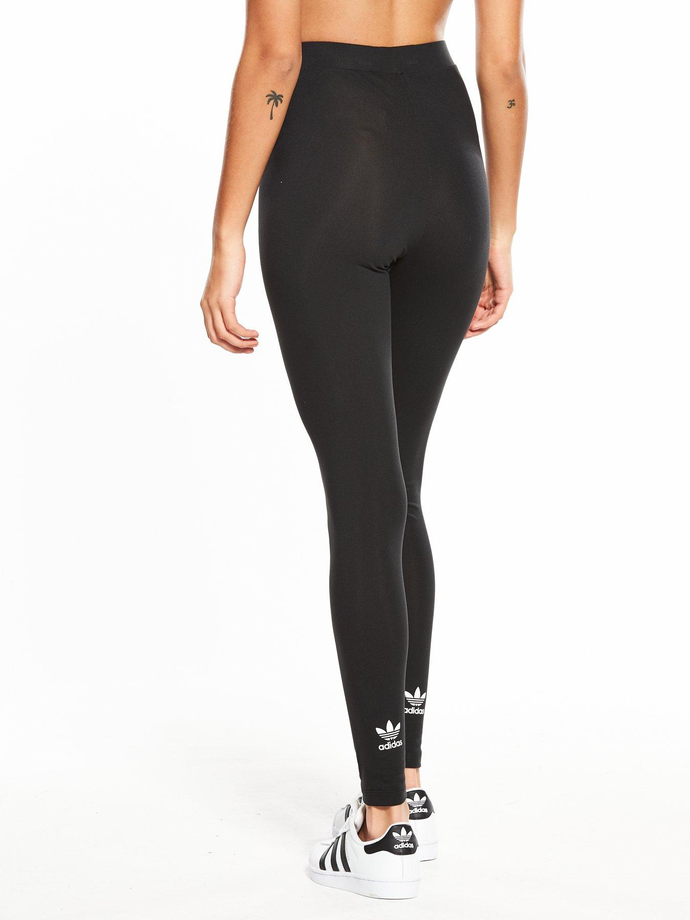 adidas Originals adicolor Trefoil Tights - Black