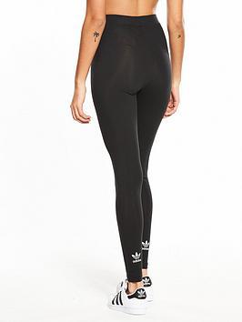 adidas-originals-adicolor-trefoil-tights-black