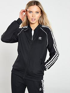 5c3ed0b9a5 adidas Originals adicolor Superstar Track Top - Black