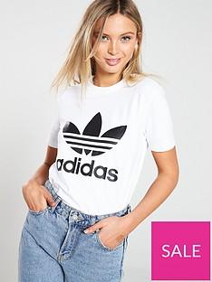 adidas-originals-adicolor-trefoil-tee-whiteblack