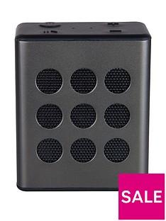 i-box Small Portable 2W Bluetooth Speaker - Gun Metal