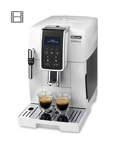 DeLonghi Dinamica ECAM350.35.W Coffee Machine Best Price, Cheapest Prices