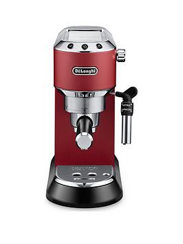 Delonghi Dedica Pump Machine – Red