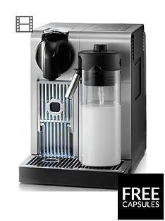 Nespresso EN750.MB Lattissima Pro byDelonghi Coffee Machine - Silver