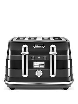 delonghi-avvolta-4-slice-toaster-black
