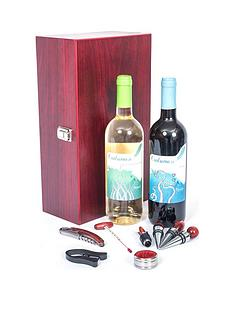 double-wine-case-with-wine-accessories-cork-wine
