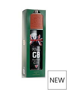 williams-gb-gin-with-hip-flask-70cl