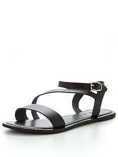 v-by-very-rayne-leather-asymmetricnbspflat-sandal-black