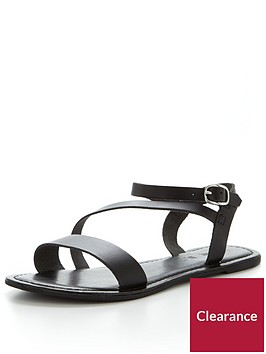 v-by-very-rayne-leather-asymmetricnbspflat-sandal-black