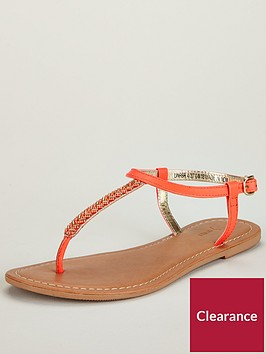 v-by-very-melodie-embellished-toe-post-sandal-coral