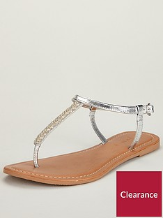 v-by-very-melodie-embellished-toe-post-sandal-silver