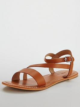 v-by-very-rayne-leather-asymmetricnbspflat-sandal-tan