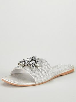 v-by-very-aurora-embellished-slider-sandal-silver