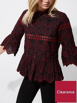 ri-petite-embroided-smock-blouse