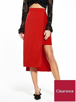 river-island-red-skirt