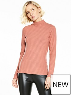 river-island-high-neck-ribbed-top