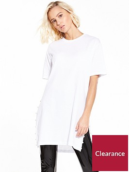 river-island-pearl-split-side-jumbo-top