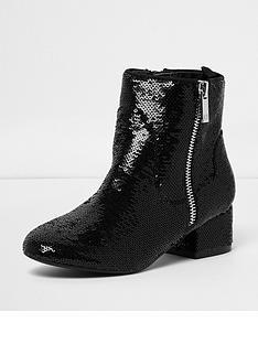 river-island-sequin-block-heel-boots