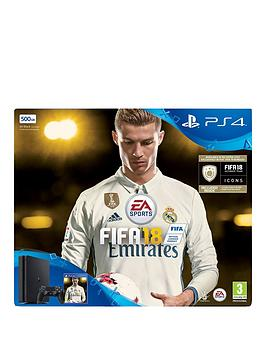 playstation-4-500gb-fifa-18-ronaldo-edition-console-and-extra-dualshock-controller