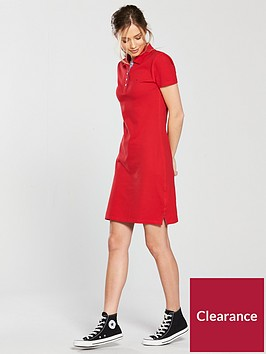 tommy-jeans-polo-neck-dress-rednbsp