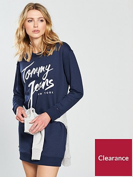 tommy-jeans-logo-sweatshirt-dress-black-iris