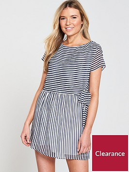 tommy-jeans-stripe-double-layer-dress