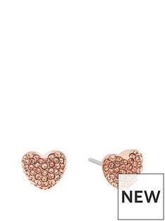 michael-kors-mkj6320791-rose-tone-paveacutenbspheart-earrings