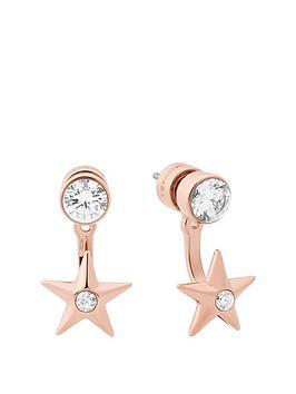 michael-kors-mkj6725791nbspcelestial-rose-gold-tone-star-earrings