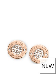 michael-kors-mkj3353nbsprose-gold-tone-paveacute-stud-earrings