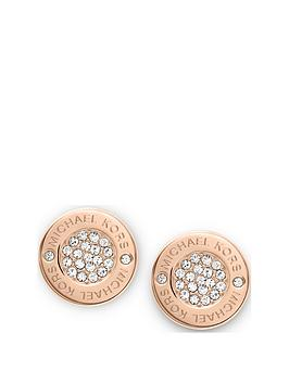 michael-kors-mkj3353nbsprose-gold-tone-paveacute-stud-earrings
