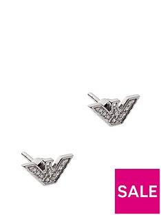 emporio-armani-stainless-steel-eagle-stud-earrings