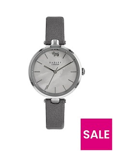 radley-st-dunstans-silver-metallic-leather-strap-watch