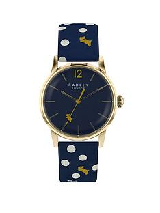 radley-vintage-dog-dot-leather-strap-watch