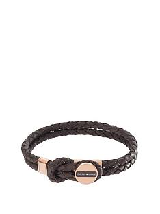 emporio-armani-brown-leather-stainless-steel-rose-gold-ip-clasp-mens-bracelet