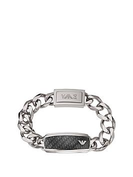 emporio-armani-stainless-steel-mensnbspchain-bracelet