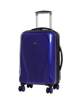 It Luggage Corona Metallic 8-Wheel Cabin Case