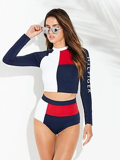 tommy-hilfiger-high-waist-bikini-bottoms-redwhitebluenbsp