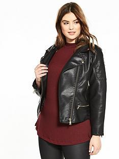 Leather & Faux Leather Jackets | Women | www.very.co.uk