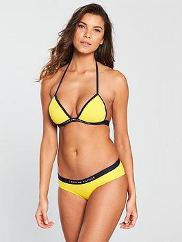 tommy-hilfiger-triangle-bikini-top-yellow