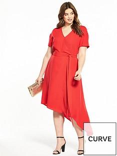 v-by-very-curve-asymmetric-hem-wrap-dress