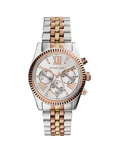 michael-kors-mk5735-lexington-tri-tone-chronograph-ladies-watch