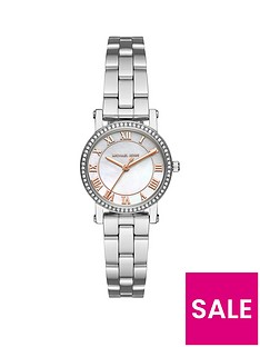 michael-kors-mk3557nbspmini-norienbspsilver-tone-ladies-watch