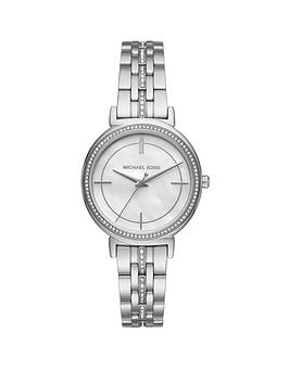 michael-kors-mk3641nbspcinthianbspsilver-tone-paveacute-ladies-watch