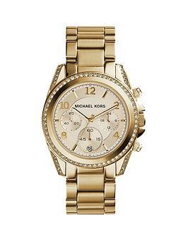 michael-kors-mk5166nbspblair-gold-tone-chronograph-ladies-watch