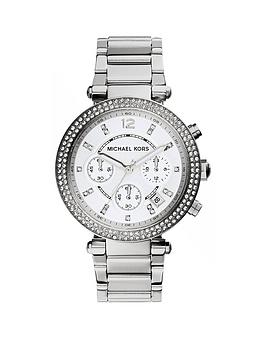 michael-kors-mk5615nbspparker-silver-tone-chronograph-ladies-watch