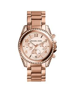 michael-kors-mk5943nbspblair-rose-tone-chronograph-ladies-watch