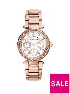 michael-kors-mk5616nbspmini-parker-rose-tone-chronograph-ladies-watch