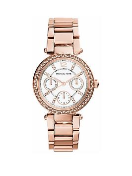 michael-kors-mk5616nbspmini-parker-rose-tone-chronograph-ladies-watch
