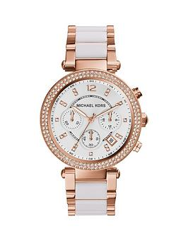 michael-kors-mk5774nbspparker-rose-tone-chronograph-ladies-watch